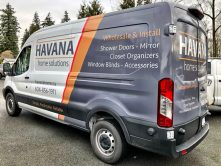 Havana Home Solutions van wrap