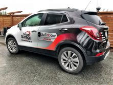 Smart Garage car wrap