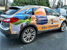 Sunshine Coast Health Centre SUV wrap