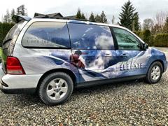 Whistler van wraps