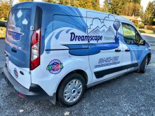 Dreamscape Painting van wrap