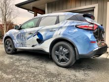 Elevate Vacations SUV wrap