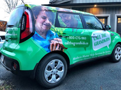 Business car wraps in Kamloops
