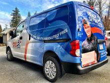 Ready Set Go van wrap