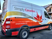 Simply Canadian van wrap