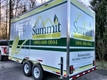 Summit Services trailer wrap