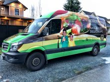 Sunrise Pita van wrap