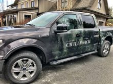 Tourism Chilliwack truck wrap