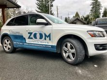 Zoom Financial SUV wrap