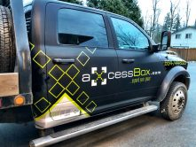 Axcess Box truck wrap