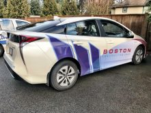 Boston Construction car wrap