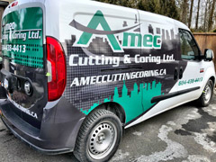 Port Moody business vehicle wraps