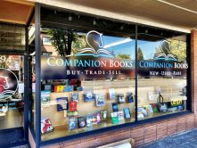 Companion Books window wrap