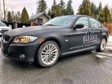 Elevate Real Estate Management car wrap