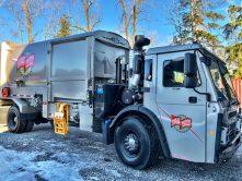 First Class Waste truck wrap
