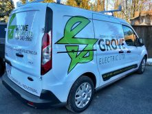 Grove Electric Ltd. van wrap