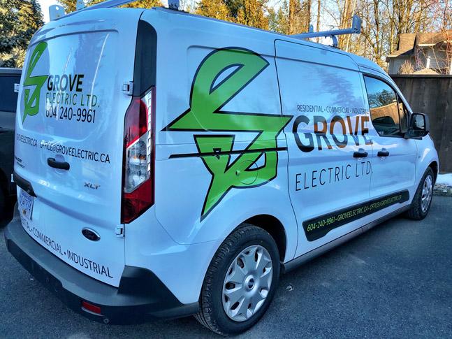 Grove Electric Ltd. van wrap