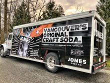 Jones Soda truck wrap