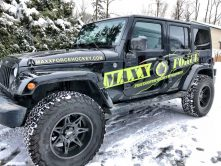 Maxx Force Hockey jeep wrap