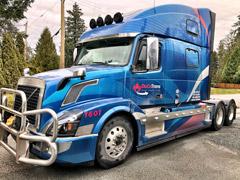 Semi-truck wraps in Port Moody