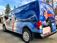 Port Moody van wraps