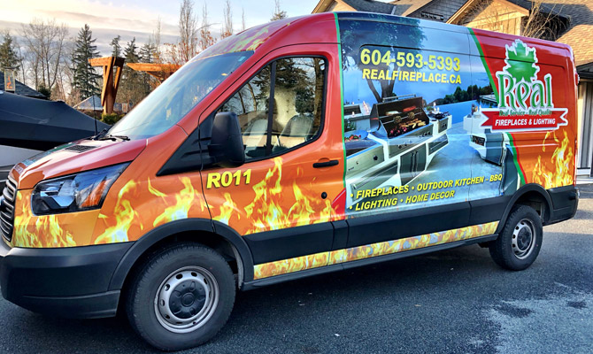 Abbotsford business wraps
