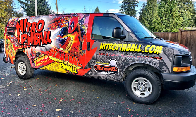 Custom vehicle wraps in Abbotsford