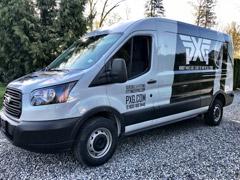 White Rock business van wraps