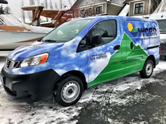 Squamish business wraps