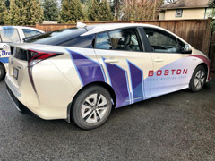 White Rock car wraps