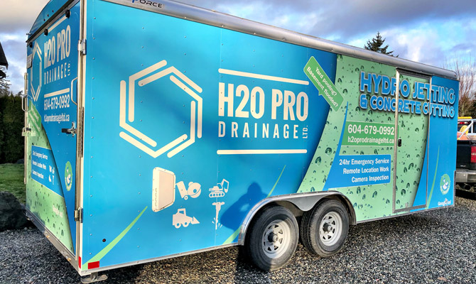 Trailer wraps in Chilliwack