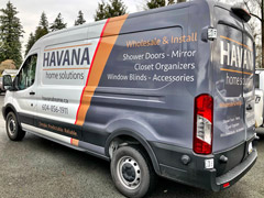 Chilliwack work vehicle wrap