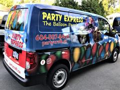 Coquitlam/PoCo work van wrap