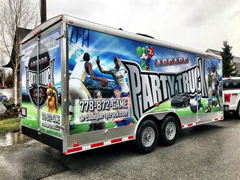 langley trailer wrap