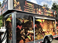 North Vancouver food truck wraps