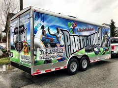 Trailer wraps in Pitt Meadows