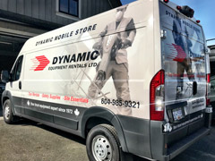 Pitt Meadows van wraps
