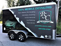 Trailer wraps in Port Moody