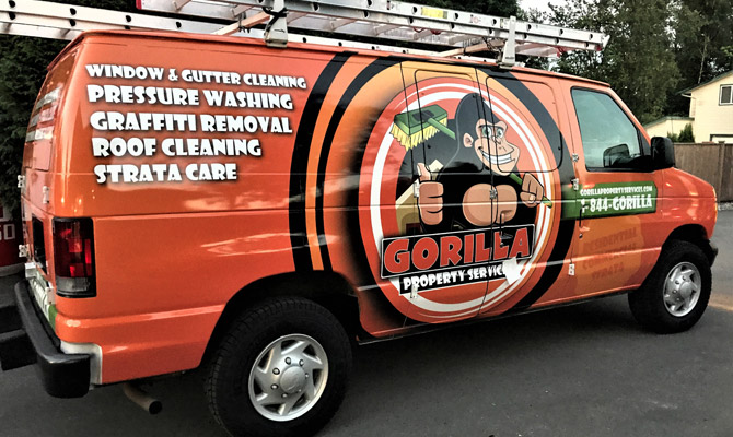 Port Moody vehicle wraps