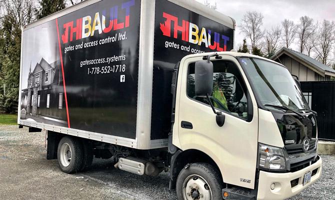 Work truck wraps in Squamish