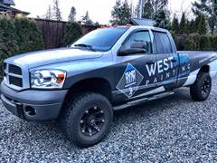 Truck wraps in White Rock