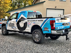 Kamloops truck wraps