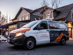 Van wraps in Port Moody