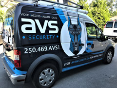 Vancouver work truck wraps