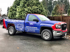 Kamloops work truck wraps
