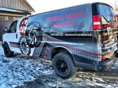 Mission work van wraps