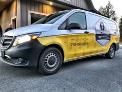Squamish work van wraps