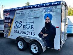 trailer wrap advertising