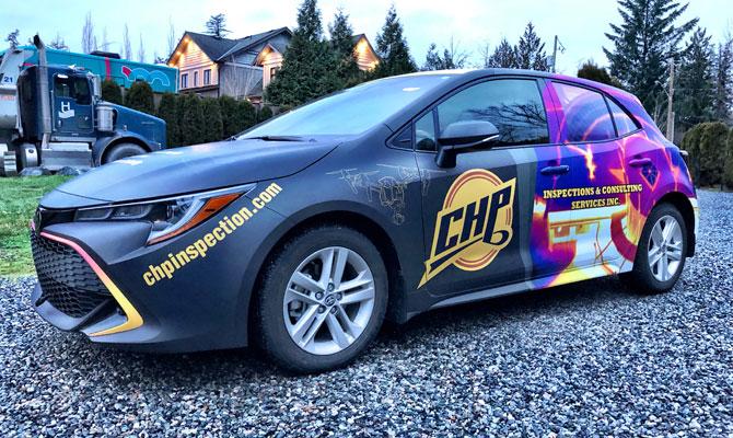 Business car wraps in Edmonton