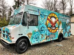 Edmonton food truck wrap